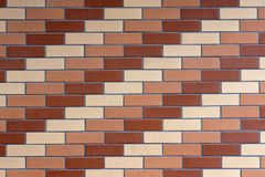 Tile wall. The background of tile wall Royalty Free Stock Image