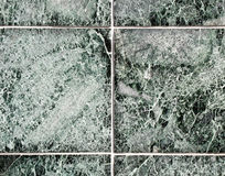 Tile wall. On a modern office building Royalty Free Stock Photos