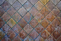 Tile wall Stock Image