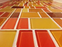Tile. Wall decor royalty free stock images