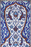 Tile wall decoration of  Rustem Pasha Mosque, Istanbul Royalty Free Stock Photo