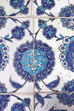 Tile wall decoration of  Rustem Pasha Mosque, Istanbul Stock Photography