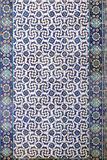 Tile wall decoration of  Rustem Pasha Mosque, Istanbul Royalty Free Stock Images