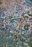 Tile Wall Mosaic. Grid, Penang, Malaysia Royalty Free Stock Photos