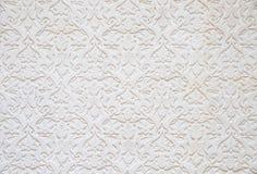 Tile wall of Seamless wallpaper Stock Image
