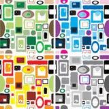 Tile wallpaper version Stock Image