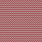Tile zig zag knitting vector pattern or winter background. For seamless decoration wallpaper Royalty Free Stock Photography