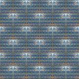 Tileable соединило яркий блеск с двойной картиной звезд Стоковые Фотографии RF