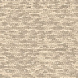 Tileable brick wall Stock Images