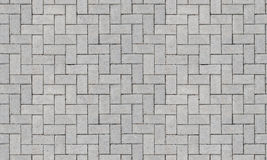 Tileable Concrete Pavers Royalty Free Stock Photography