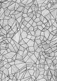 Graphically line style honeycomb Stock Images