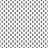 Tileable grid / mesh geometric pattern series. Repeatable monoch Stock Image