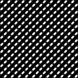 Tileable grid / mesh geometric pattern series. Repeatable monoch Royalty Free Stock Photos