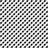 Tileable grid / mesh geometric pattern series. Repeatable monoch Royalty Free Stock Photo