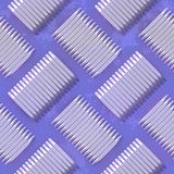 Tileable metal plate Stock Photo