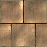 Metal tiles Royalty Free Stock Image