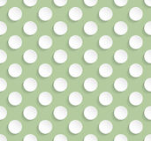 Tileable stylish background design with dots Stock Image