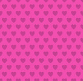 Tileable valentine's day heart patterned background Stock Photo
