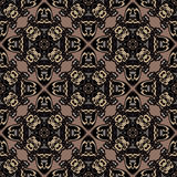 Tiled abstract vintage background  Royalty Free Stock Images