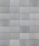 Tiled Aluminum Metal Background Stock Photo
