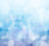 Tiled background. Tiled bright background in blue color Stock Photo