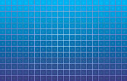 Tiled  background. Blue tiled  background made of squares Stock Photo
