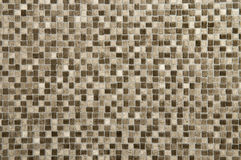 Tiled background. The mosaic floor of an bathroom Stock Images