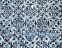 Tiled background with oriental ornaments. Amazing tiled background with oriental ornaments stock photography