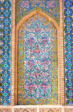 Tiled background, Vakili Mosque, Shiraz, Iran Stock Photography