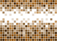 Tiled beige background Royalty Free Stock Images