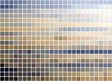 Tiled blue&beige background Stock Photos