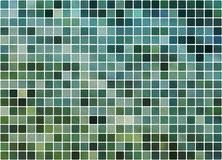 Tiled blue and turquoise background Royalty Free Stock Photo