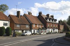 Cottages at Chiddingfold. Surrey. UK Stock Photography