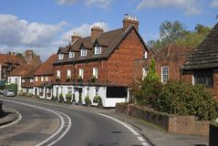 Cottages at Chiddingfold. Surrey. UK Royalty Free Stock Photography