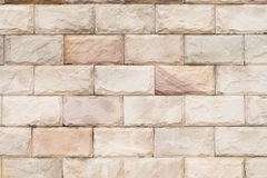 Tiled brick wall in light sepia beige black white tone texture background for interiors design home, house. Royalty Free Stock Photography
