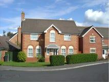 Tiled British house. Tiled single British house Royalty Free Stock Photo