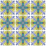 Tiled bugs Stock Photography