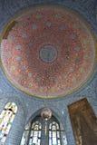 Tiled ceiling, Topkapi Palace, Istanbul, Turkey Stock Photo