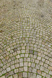 Tiled cobblestone Stock Image