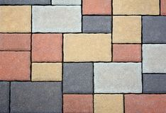 Tiled Floor Stock Images