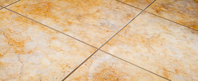 Tiled floor Stock Photo