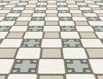 Tiled floor Royalty Free Stock Image