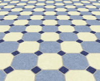 Tiled floor background tiles Stock Images