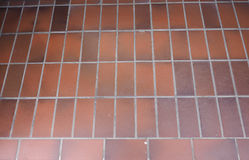 Tiled floor background Stock Photography
