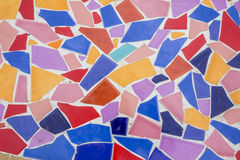 Tiled floor. Free pattern Royalty Free Stock Photo