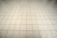 Tiled Floor. Gray tiled floor texture and background Royalty Free Stock Photos