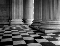 Tiled floor of St Pauls Cathedral Royalty Free Stock Photography