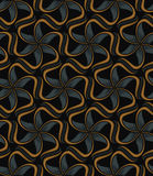 Tiled Floral Pattern Stock Image