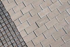 Tiled ground Stock Image