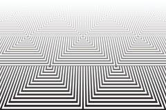 Tiled ha strutturato la superficie Geometrico astratto Fotografie Stock Libere da Diritti
